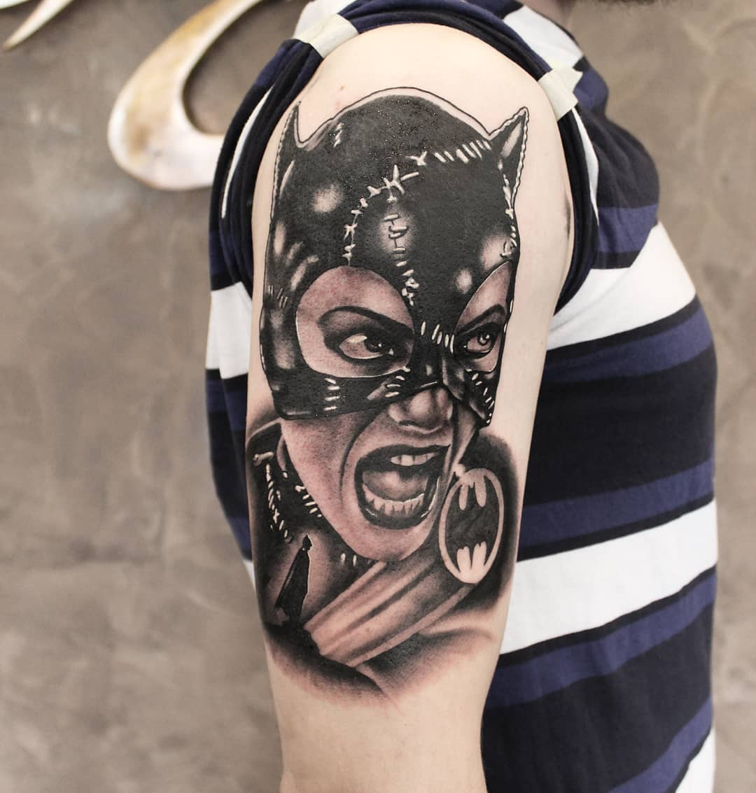 Next step on this batman-sleeve. #germantattooers #tattooworkers #tattoolife #ge