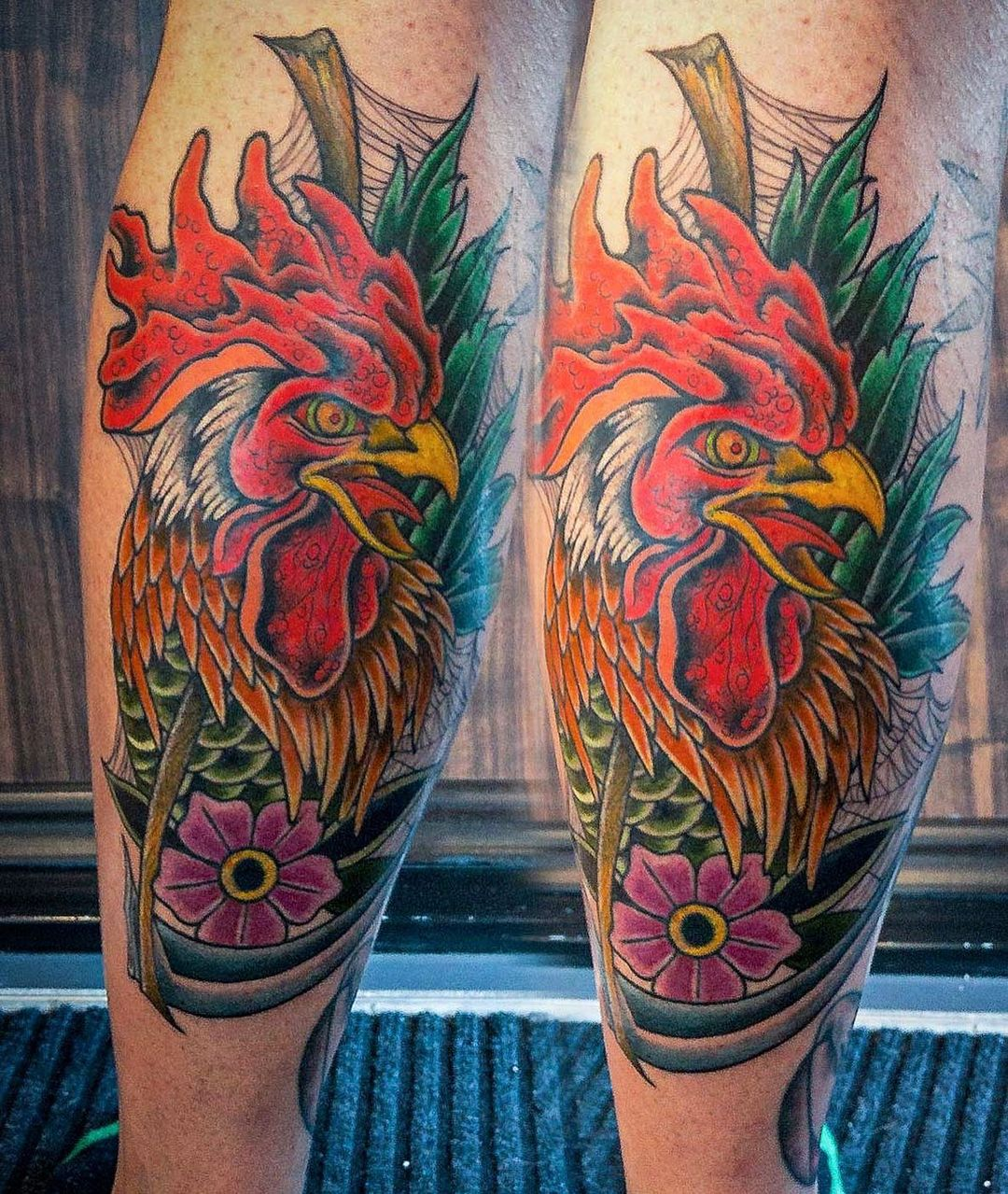Less rock, more Cock . From last week . . .  #tattoo #tattooing #tatovering #coc...